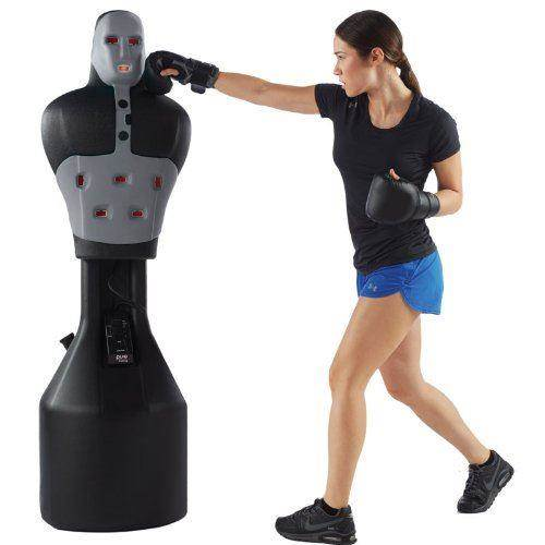 slam man boxing robot