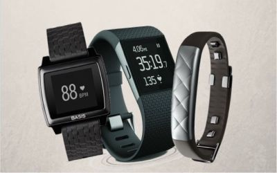 Jawbone UP3 vs Fitbit Surge vs Basis Peak: central competitors to be compared