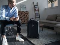 Your New Smart Luggage Will Never Get Lost, Only You Will Be Able to Unlock It (With Your Smart Phone) and It Will Turn on an Anti-Theft Alarm